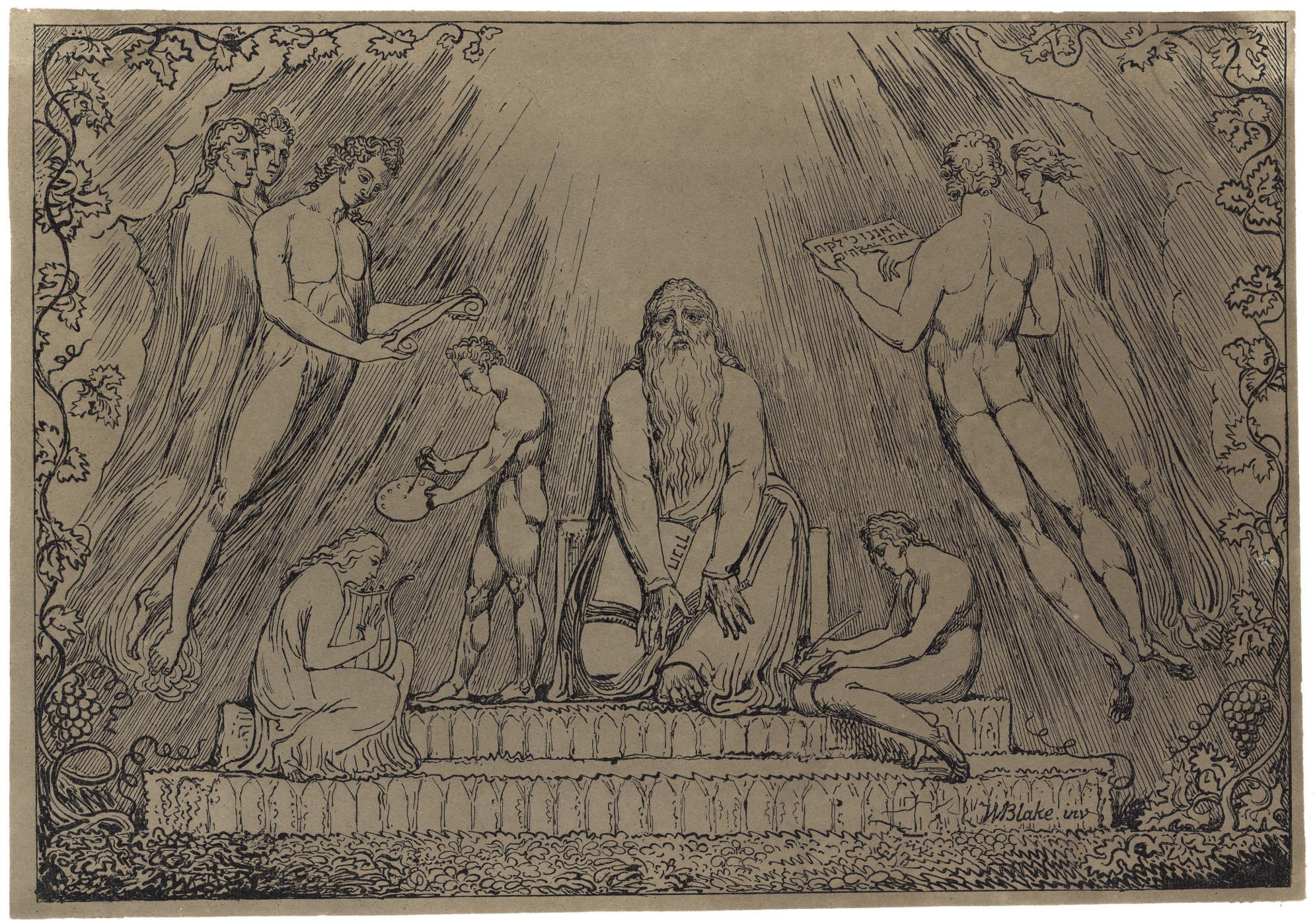Enoch (Binyon 136; Bindman 413; Essick XV 1D.)