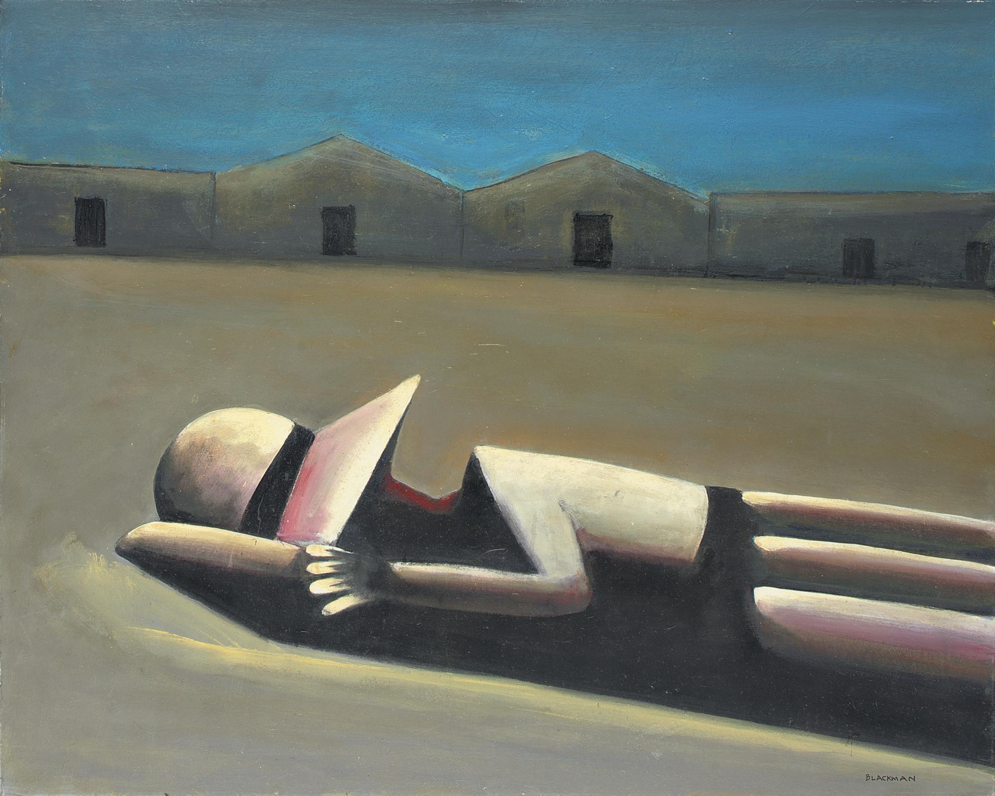 Prone schoolgirl (1953)