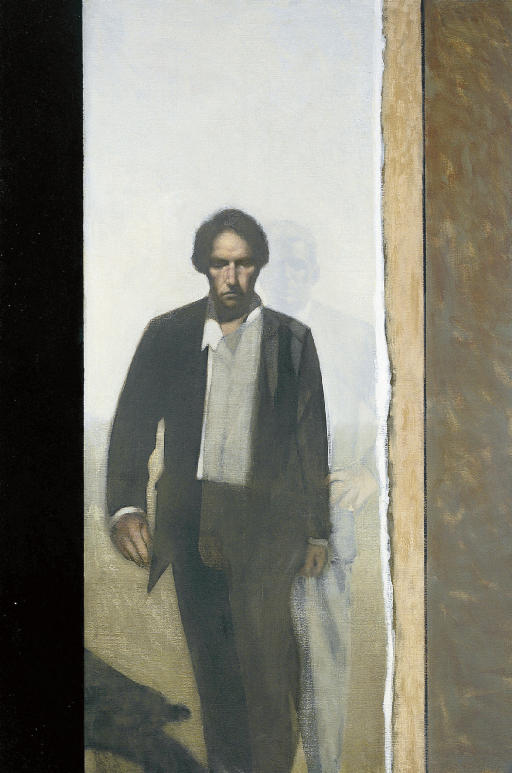 Man with a Shadow Figure