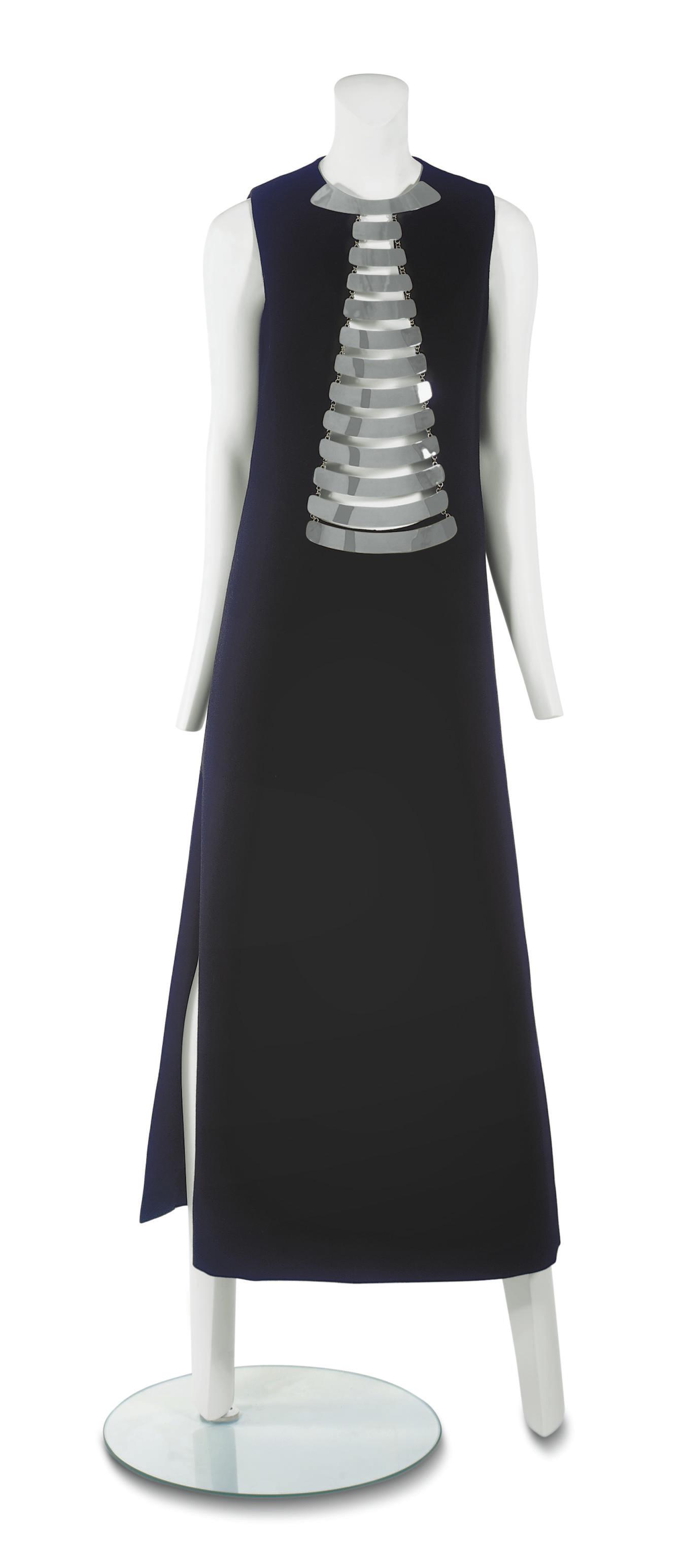 PIERRE CARDIN (B.1922) A FULL-LENGTH EVENING DRESS