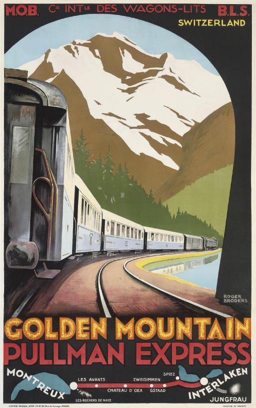 GOLDEN MOUNTAIN, PULLMAN EXPRESS