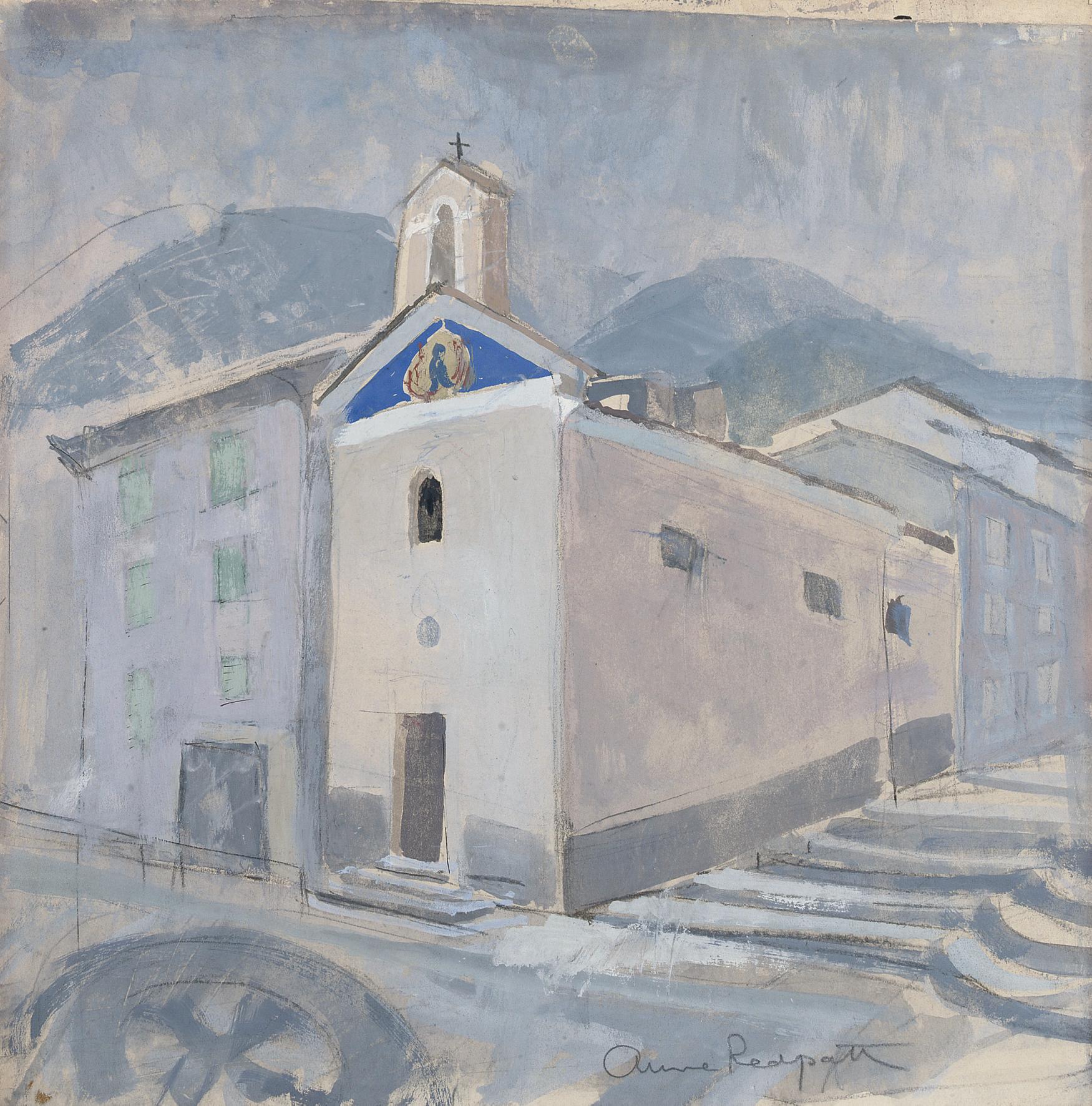 Church at Sospel, Alpes-Maritime