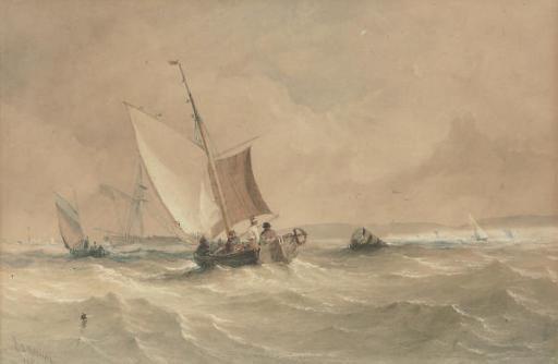 Fishing craft in coastal waters