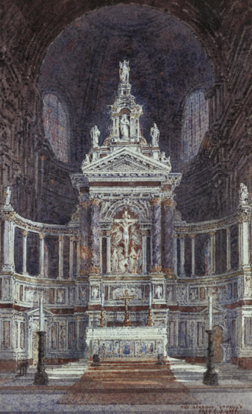 The Aeredos, St Paul's