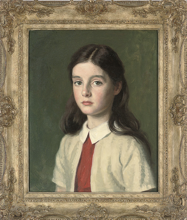 Portrait of Daphne, the artist's daughter