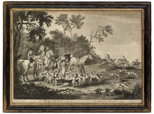 Fox Hunting: Unkenneling the Fox Hounds; Going to Cover; Diging for the Fox; and The Death of the Fox