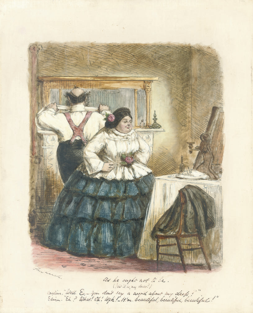 'The husband as he ought to be' (illustrated); and 'As he ought not to be'