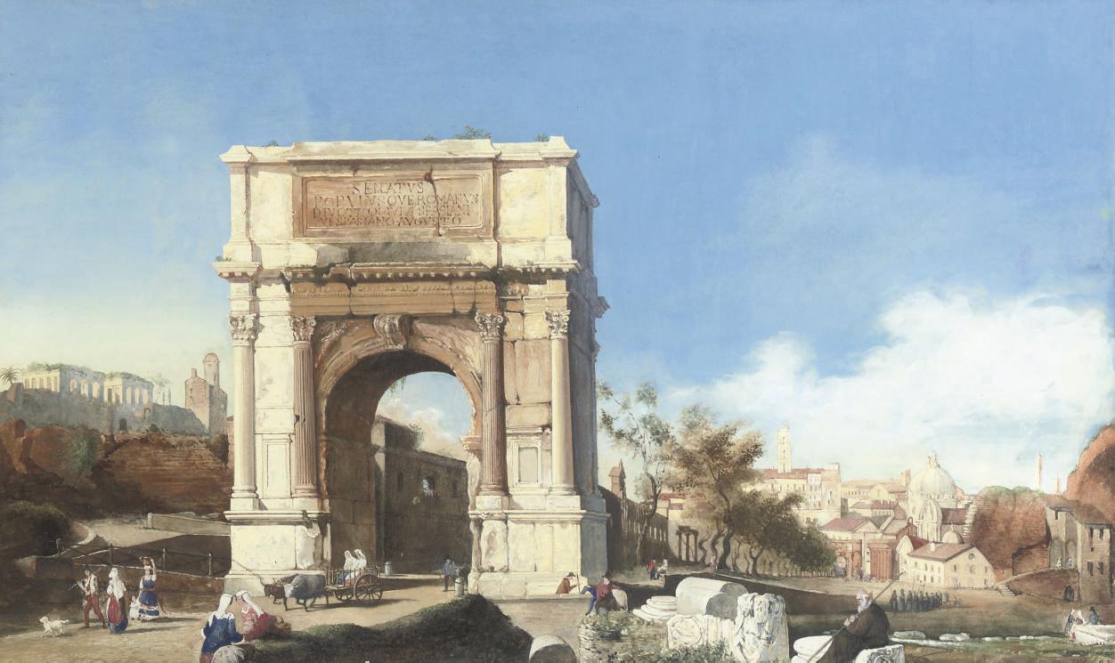 The Arch of Titus, Via Sacra, Rome