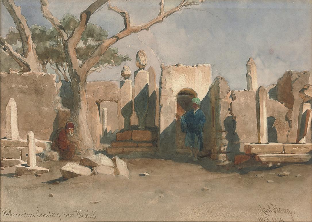 The Mohamedan Cemetary near Boolak, Egypt