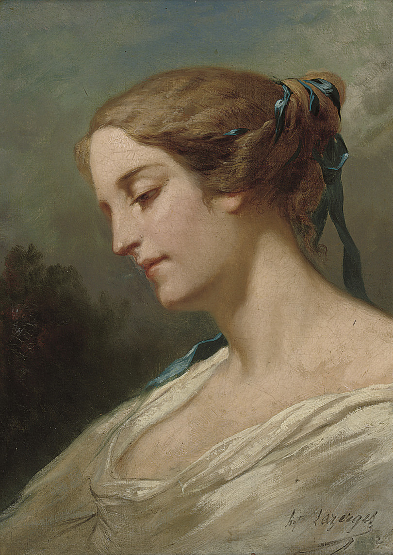 Portrait of young beauty