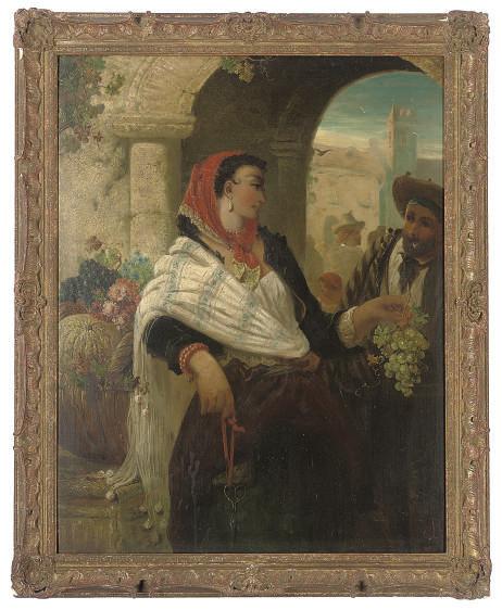 The grape-seller, Seville
