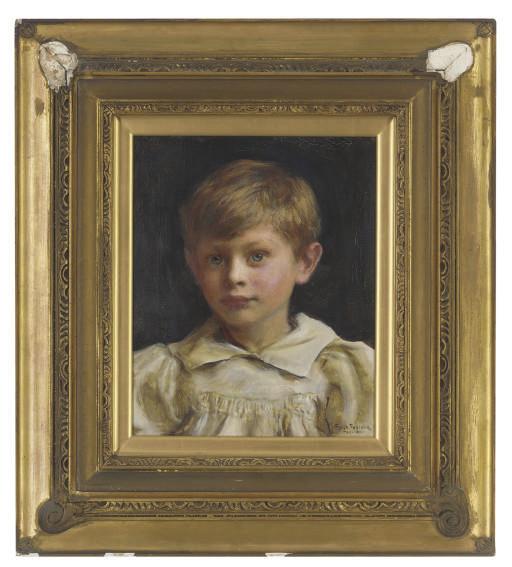Portrait of Roderick Peter George Denman (b.1894) as a boy