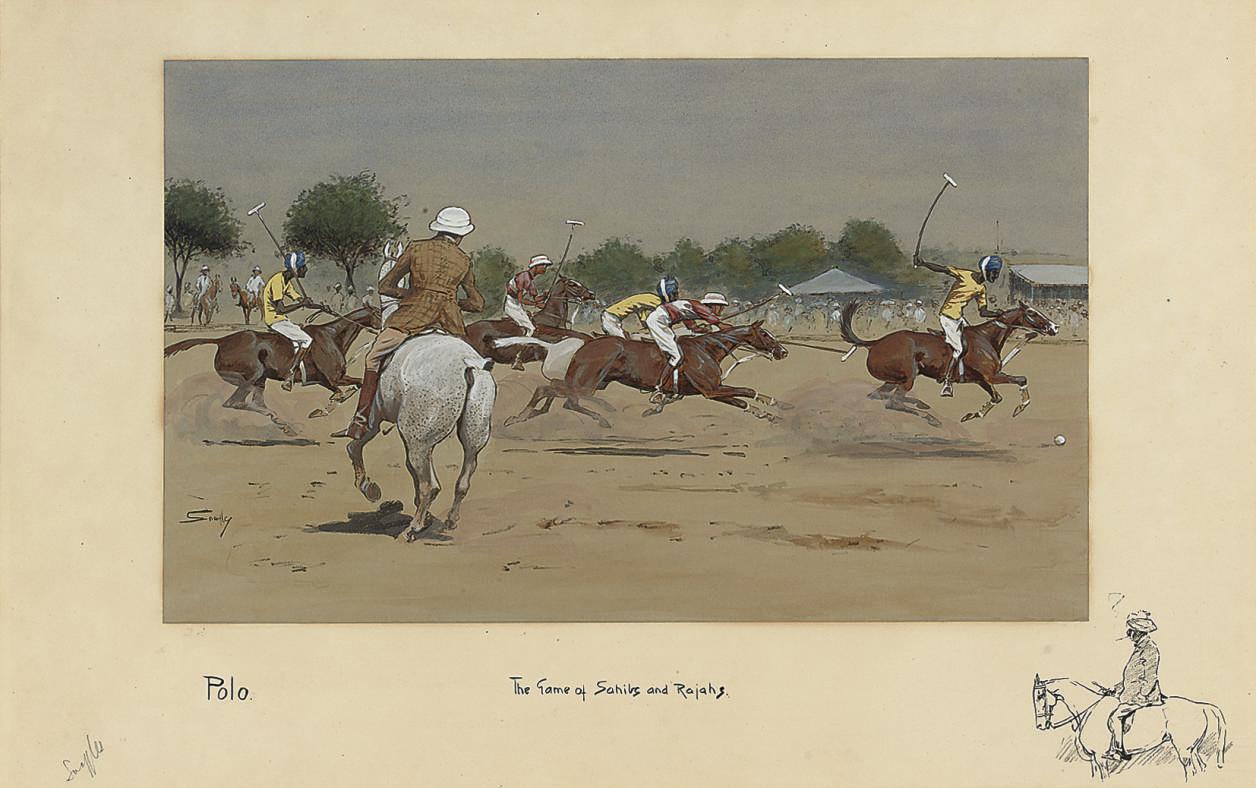 Polo: The Game of Sahibs and Rajahs.