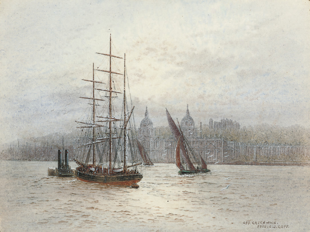 Westminster; and Off Greenwich (illustrated)