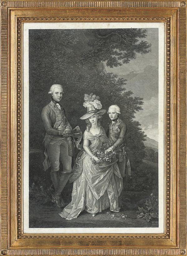 Portrait of an Aristocratic European Family