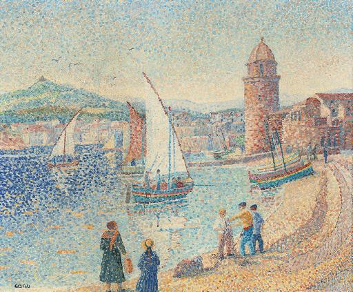 Les bateaux à Collioure