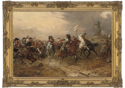 The battle of Oudenarde