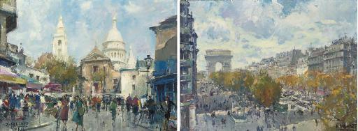 Montmartre; and Les Champs Elysées