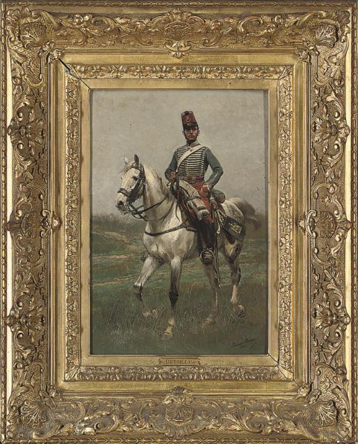 A french cavalryman