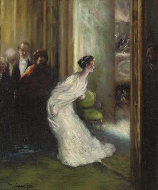 A curtain call at the opera