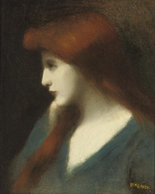 Jean Jacques Henner (French, 1