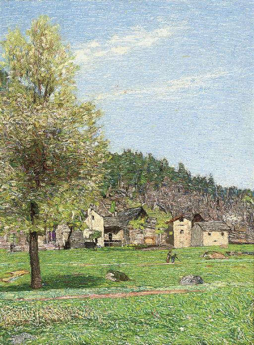 A village next to the Vigezzo valley, Ossola, Italy