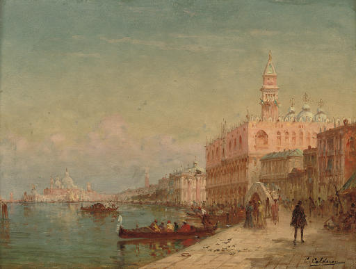 Before the Doge's Palace, Venice