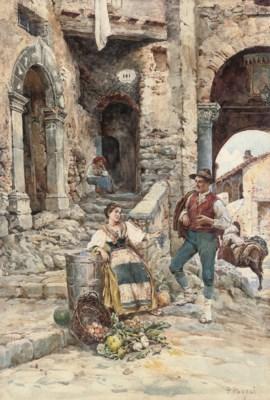 Petro Pavesi (Italian, 19th Ce