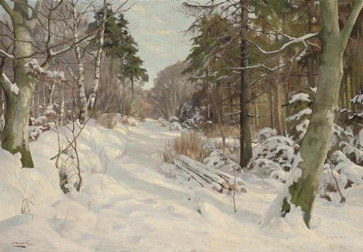 A winter track, Ravnholm