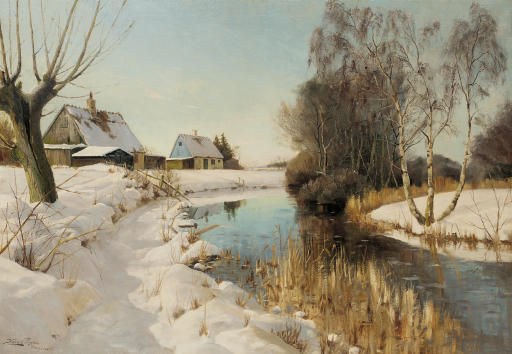 A river in the snow