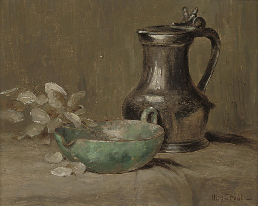 Still life with tankard