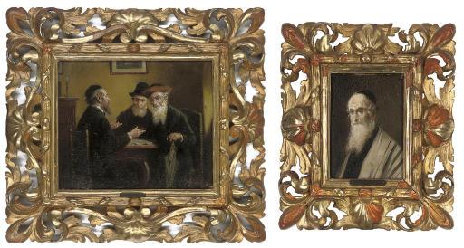 A minor dispute; and Portrait of a Rabbi