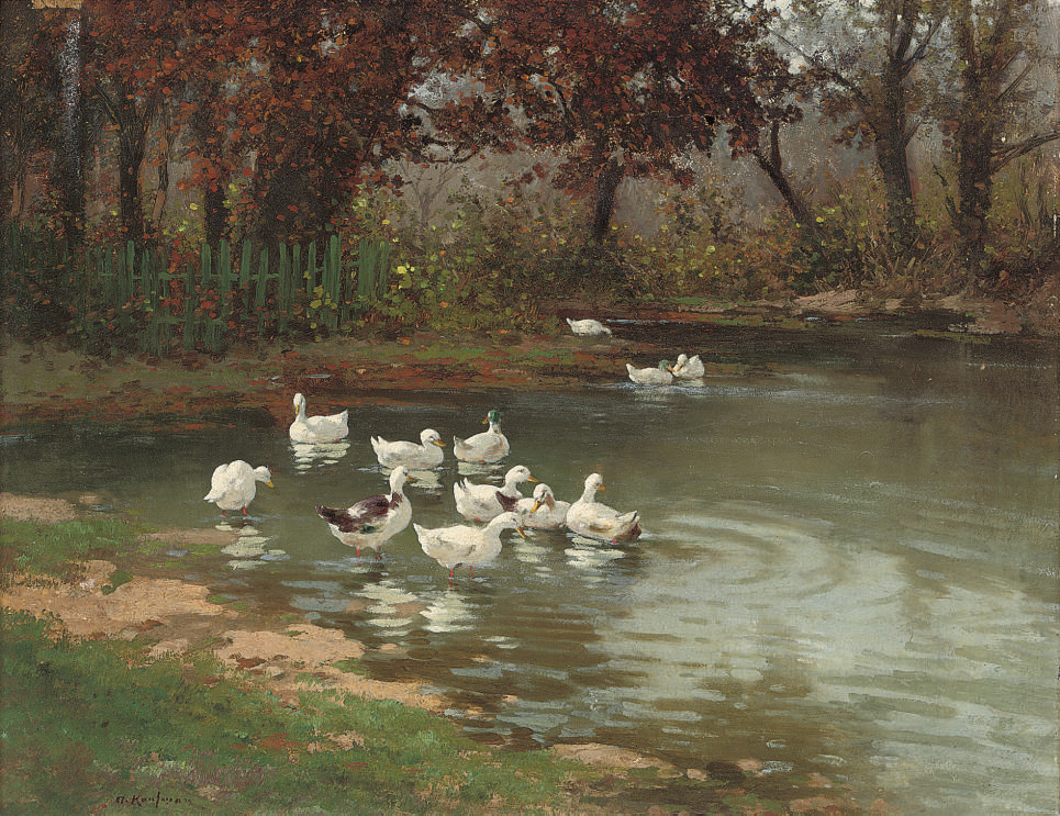 At the duckpond