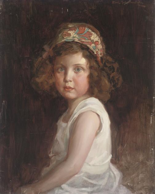 Portrait of Elizabet Burke