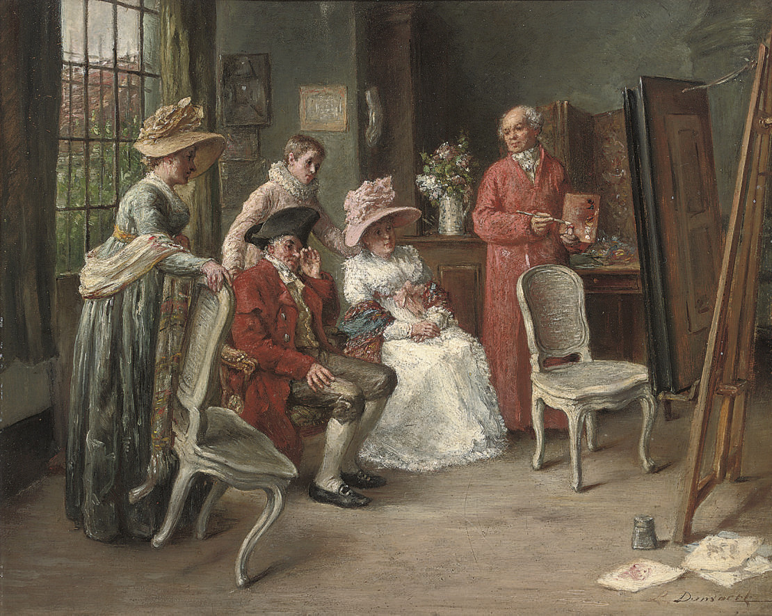 The painting lesson