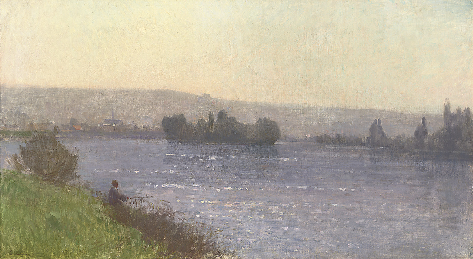 A summer day on the river