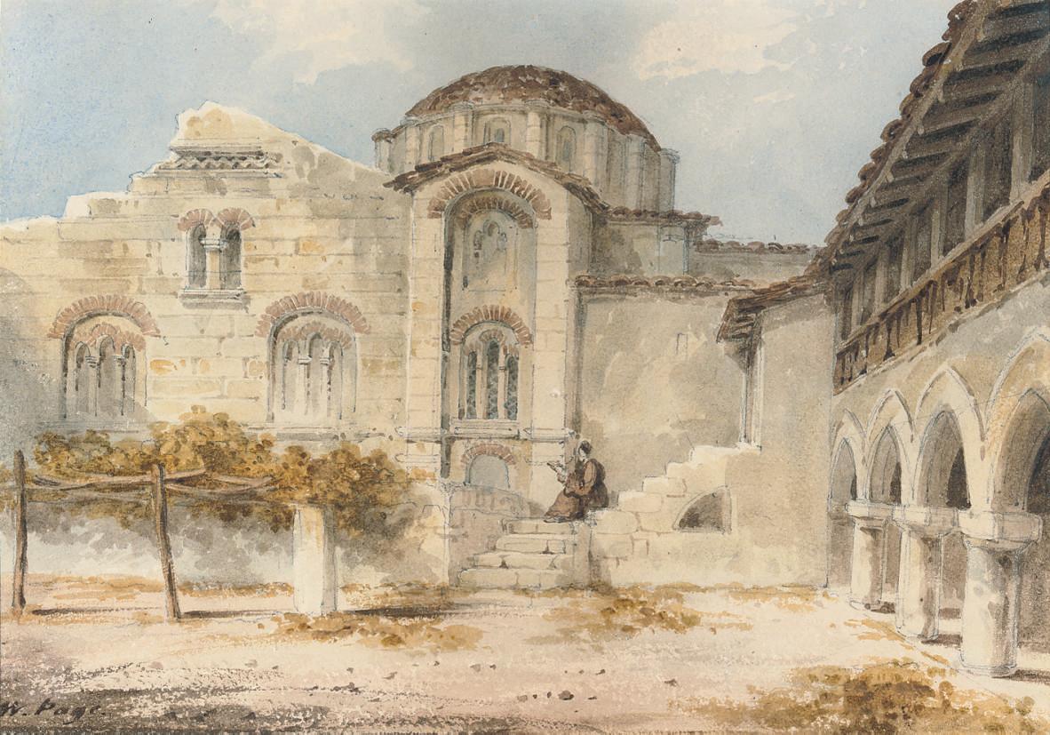 The Convant at Daphne, near Athens