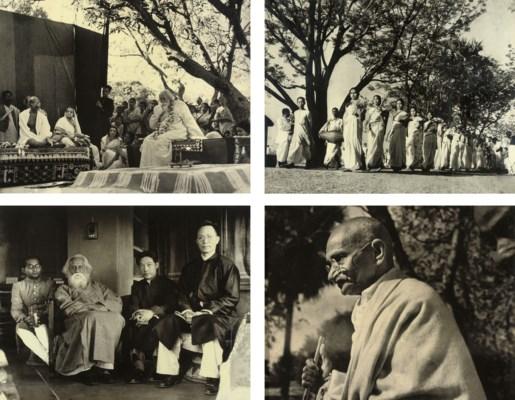 Shri shambhu shaha photographer early 20th century for Shantiniketan tagore
