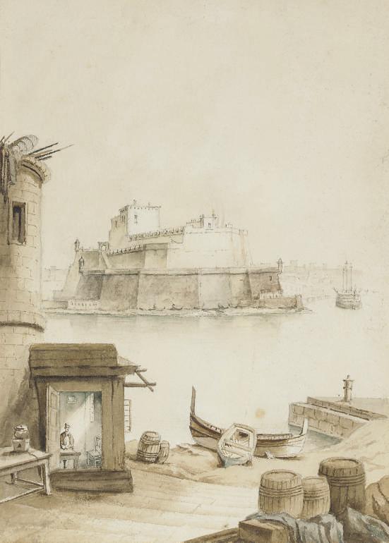 The Fort of St Angelo, Valletta, Malta