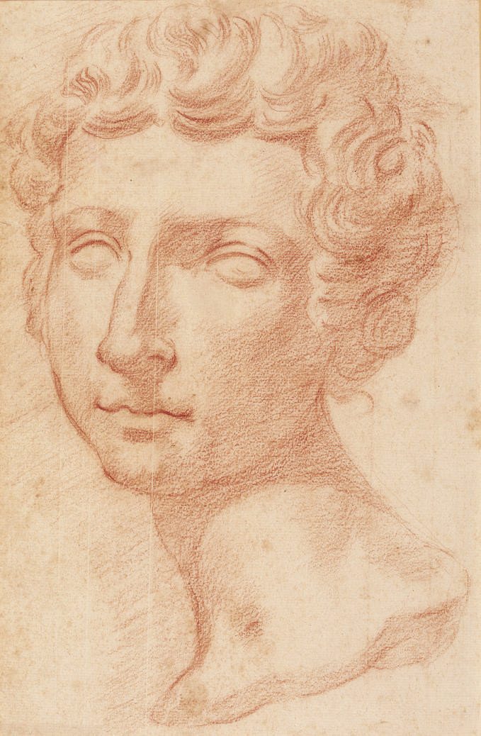 Head of a young man, after the Antique