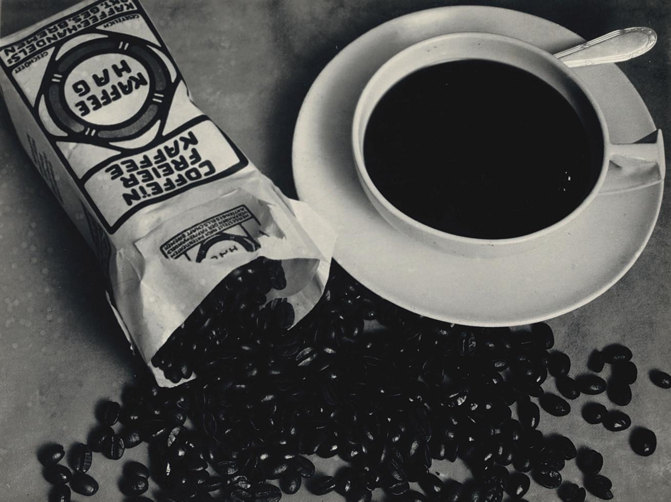 Advertisment for Kaffee Hag, 1925