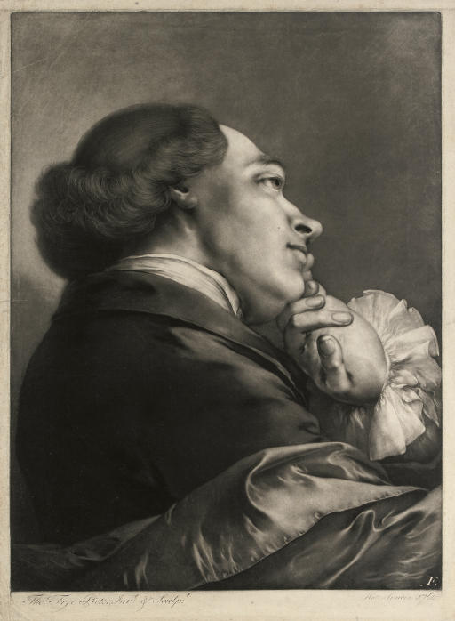 Portrait of a Gentleman, from Life-sized Heads, first series