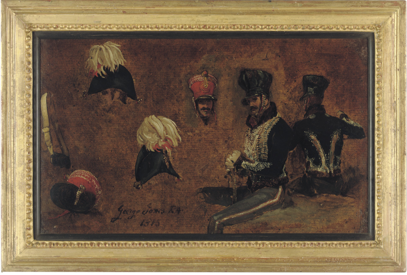 Studies of Hussar accoutrements and a general officer