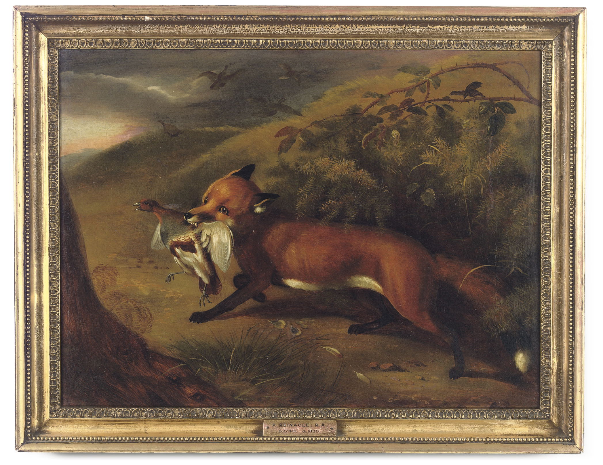 ATTRIBUTED TO PHILIP REINAGLE, R.A. (BRITISH, 1749-1833)