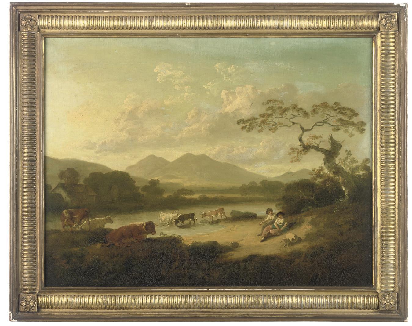 JULIUS CAESAR IBBETSON (BRITISH, 1759-1817)