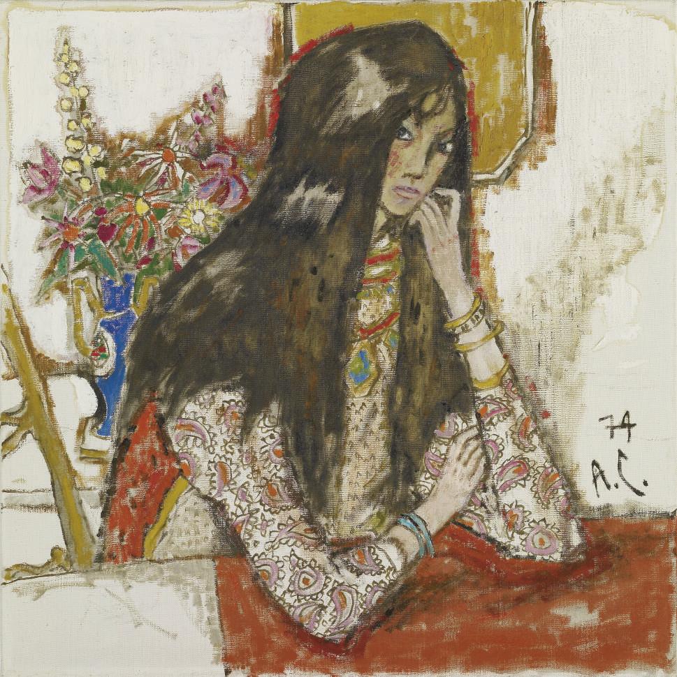 Mädchenportrait, 1947