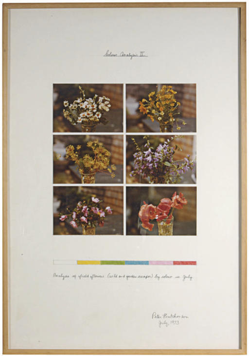 Colour Analysis II; and a companion work, Navajo Reservation, Desert Project
