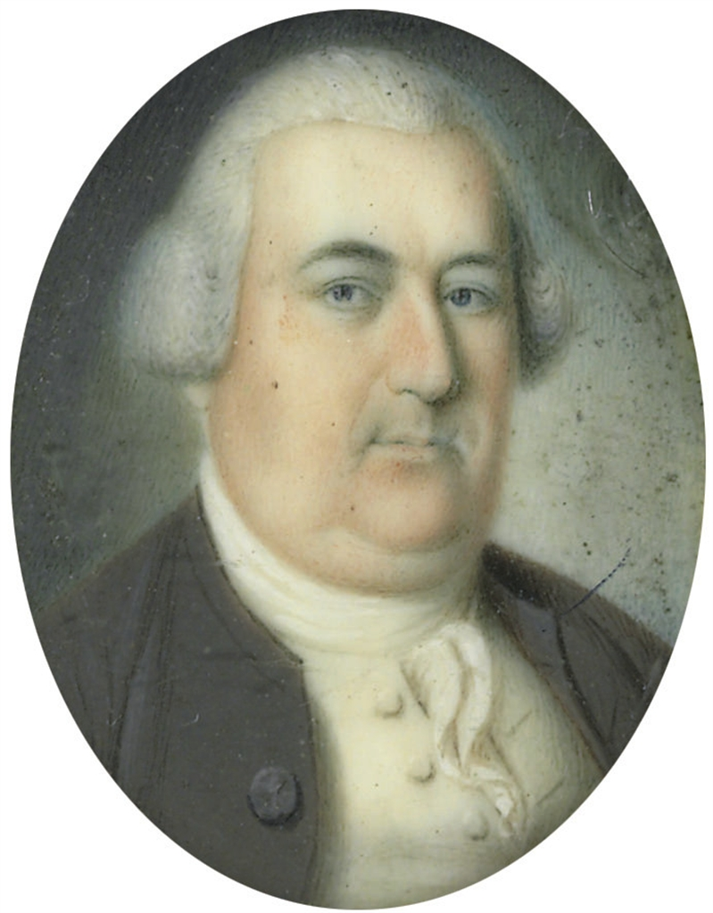 A Miniature Portrait of Colonel Richard Lloyd (1717-1786)