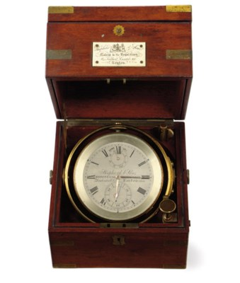 A 19th century marine Chronome