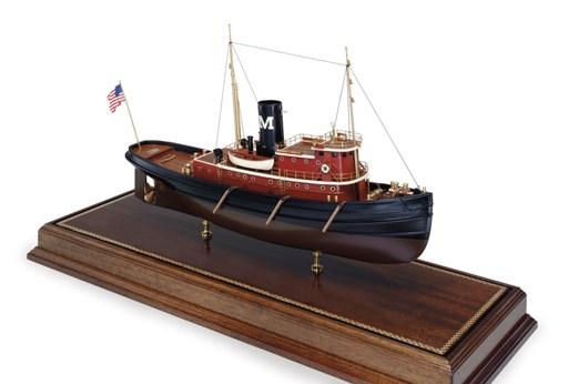 A Model Of The Tugboat Edmond
